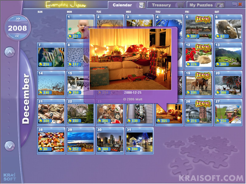 Click to view Everyday Jigsaw 1.6.2 screenshot