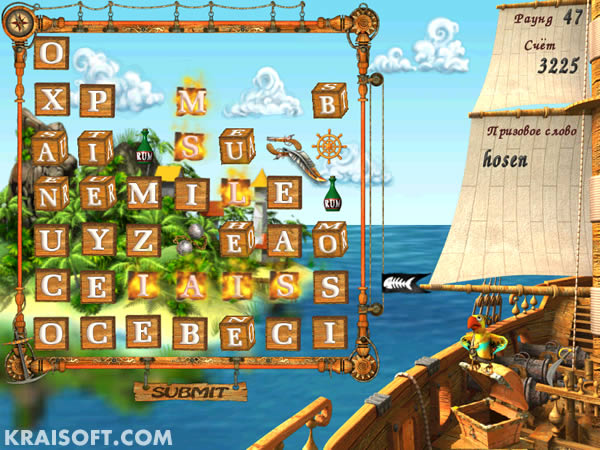 word, game, abc, words, letters, pirate, island, sea, ship