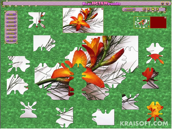 Screenshot of Real Jigsaw Puzzle